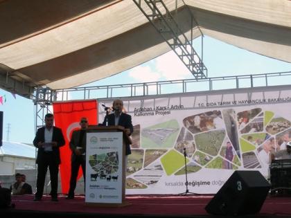 Ardahan-Kars-Artvin Kalkınma Projesi, Ardahan Hayvan Pazarı Temel Atma Töreni Organizasyonu, 2013 ARDAHAN